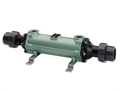 Теплообменник трубчатый 100 кВт, трубки из купроникеля (FC100-5114-2C) - фото 4522