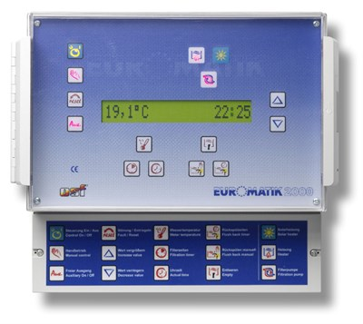 Блок управления фильтрацией и нагревом MULTI-EUROMATIC (310.550.0201) - фото 5493