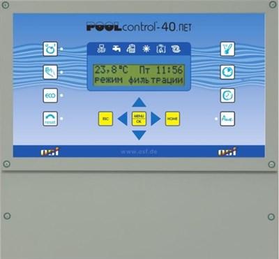 Блок управления фильтрацией и нагревом PC-40-NET (310.000.0565) - фото 5508