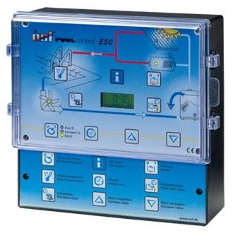 Блок управления фильтрацией, обратной промывкой и нагревом PoolControl-250 (310.008.2440) - фото 5514