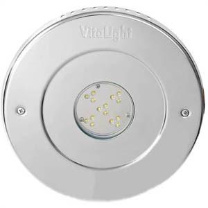 Прожектор LED, D=270мм, 15 диодов, белый натуральный, 24 В DC, без ниши, 316L/Rg5 (40201320) - фото 5641