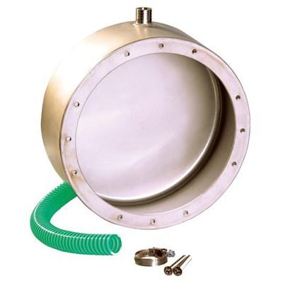 Ниша закладная, D 215 мм, выход кабеля сбоку, без фланца, AISI 316 (4400120) - фото 5718