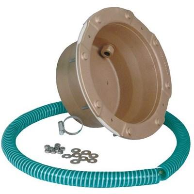 Ниша для сборных бассейнов, D 237 мм, с фланцем, бронза (4101051) - фото 5722