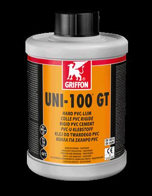 Клей для ПВХ UNI-100 GT с замедленным схватыванием, с кисточкой, 1 л (6111150) - фото 5900