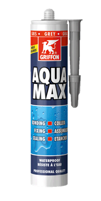 Герметик бассейновый универсальный Aqua Max 425 г, серый (6311697) - фото 5908