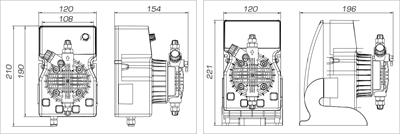 Насос дозирующий DLX PH-RX-CL/M 1-15 (1-15/2-10/3-5) PVDF (PLX272225E) - фото 6065