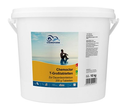 Кемохлор Т-Таблетки 20г (медленно растворимые) 5 кг - фото 6247
