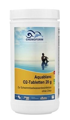Аквабланк О2 в таблетках 20г (активный кислород) 1 кг - фото 6267
