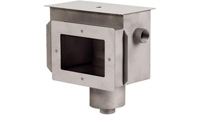 """Скиммер с камерой долива и переливный желобом 2"""" под плёнку, AISI 316 (СК.15.4/1) - фото 6426"""