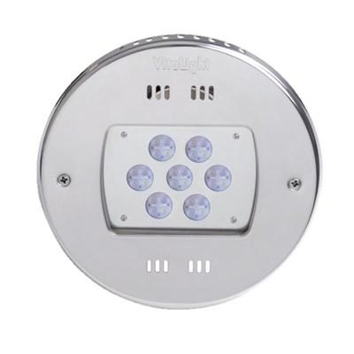 Прожектор LED 28/4, D=270 мм, 28 диодов, 24 В, холодный белый, без ниши, бронза (4.40000021) - фото 6686