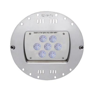 Прожектор LED 28/4, D=230 мм, 28 диодов, 24 В, RGBW, без ниши, бронза (4.44620221) - фото 6700