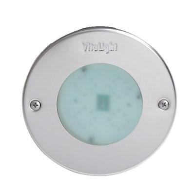 Прожектор LED 8/4, D=146 мм, 8 диодов, 24 В, холодный белый, без ниши, бронза (4.40300021) - фото 6714