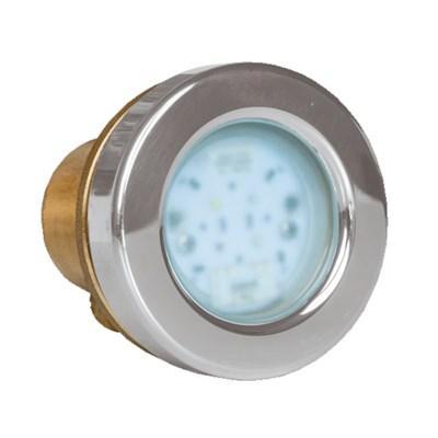 Прожектор LED 4/4, D=72 мм, 4 диода, 24 В, тёплый белый, бронза (4.40500421) - фото 6732