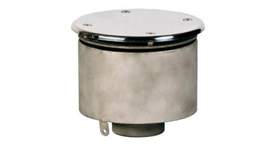 """Водозабор с антивихревой крышкой D=165, 2,5"""", под плёнку (ВЗ.625.2) - фото 7010"""