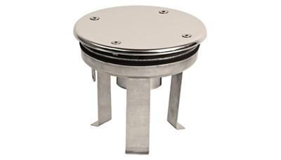 """Водозабор с антивихревой крышкой D=165, 2,0"""", под плёнку (ВЗ.620.2) - фото 7014"""