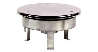 """Водозабор с антивихревой крышкой D=250, 2,5"""", под плёнку (ВЗ.525.2) - фото 7018"""