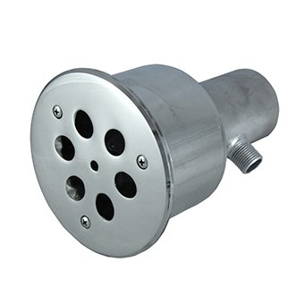 Гидромассажная форсунка 45 м3/ч, 6 сопел по 18 мм (АС 06.010) - фото 7149