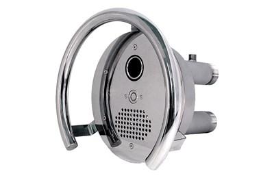 Противоток (закладная деталь с лицевой панелью и сенсорной пьезокнопкой) 50 м3/час (ПТ.50.1) - фото 7210