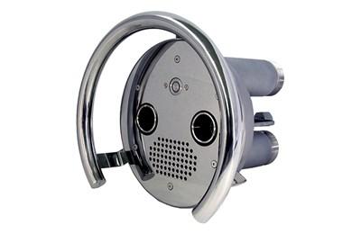 Противоток (закладная деталь с лицевой панелью и пневмокнопкой) 75 м3/час AISI-316 (ПТ.75.0/1) - фото 7214