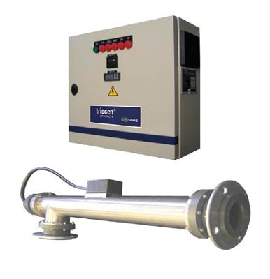 Установка ультрафиолетовая 50 м3/ч UV SPA 50, лампа 3,0 кВт 380 В (UV SPA 50) - фото 7800
