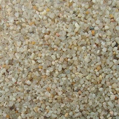 Кварцевый песок, фракция 0,4-0,8 мм, мешок 25 кг - фото 7850