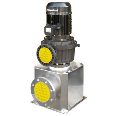 Насос MAGNUS-4 550 VERTICAL с префильтром, двигатель IE-3, 1.450 rpm, бронза - фото 8639