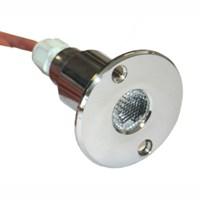 Прожектор светодиодный 1 Вт красный (АС 10.030)