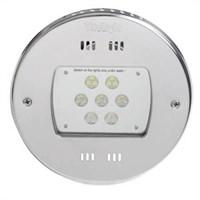 Прожектор LED, D=270мм, 21 диод, белый теплый, 24 В DC, без ниши, 316L/Rg5 (40100420)