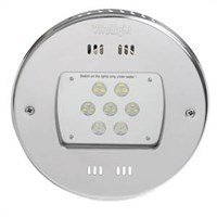 Прожектор LED, D=270мм, 21 диод, RGB, 24 В DC, без ниши, 316L/Rg5 (40100220)