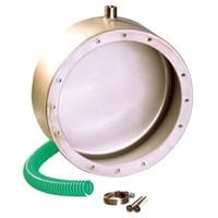 Ниша закладная, D 215 мм, выход кабеля сбоку, без фланца, AISI 316 (4400120)