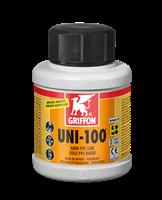 Клей для ПВХ UNI-100 0,25 л с кисточкой (6111032)