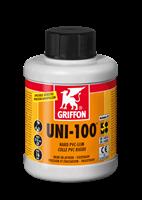 Клей для ПВХ UNI-100 0,5 л с кисточкой (6111042)