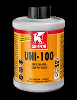 Клей для ПВХ UNI-100 1 л с кисточкой (6111052)