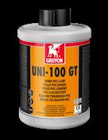 Клей для ПВХ UNI-100 GT с замедленным схватыванием, с кисточкой, 1 л (6111150)