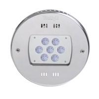 Прожектор LED 28/4, D=270 мм, 28 диодов, 24 В, холодный белый, без ниши, бронза (4.40000021)