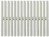 Переливная решётка, одинарное соединение, 195 мм (704001952)